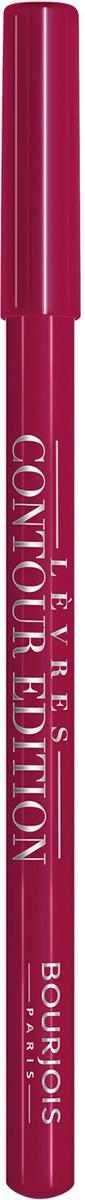 Bourjois Карандаш Контурный Для Губ Levres Contour Edition Тон 05 berry much 1 мл29101284005Контурный карандаш для ryб Levres Contour от Bourjois, отвечает всем требованиям современной женщины. Благодаря своей мягкой и тающей кремообразной текстуре карандаш легко наносится и придает губам ровный и четкий контур. Позволяет помаде лучше держаться на губах. Чрезвычайно мягкая, тающая текстура скользит и рисует на губах безупречную линию. Оттенки карандаша идеально соответствуют любому типу помады и блесков Bourjois