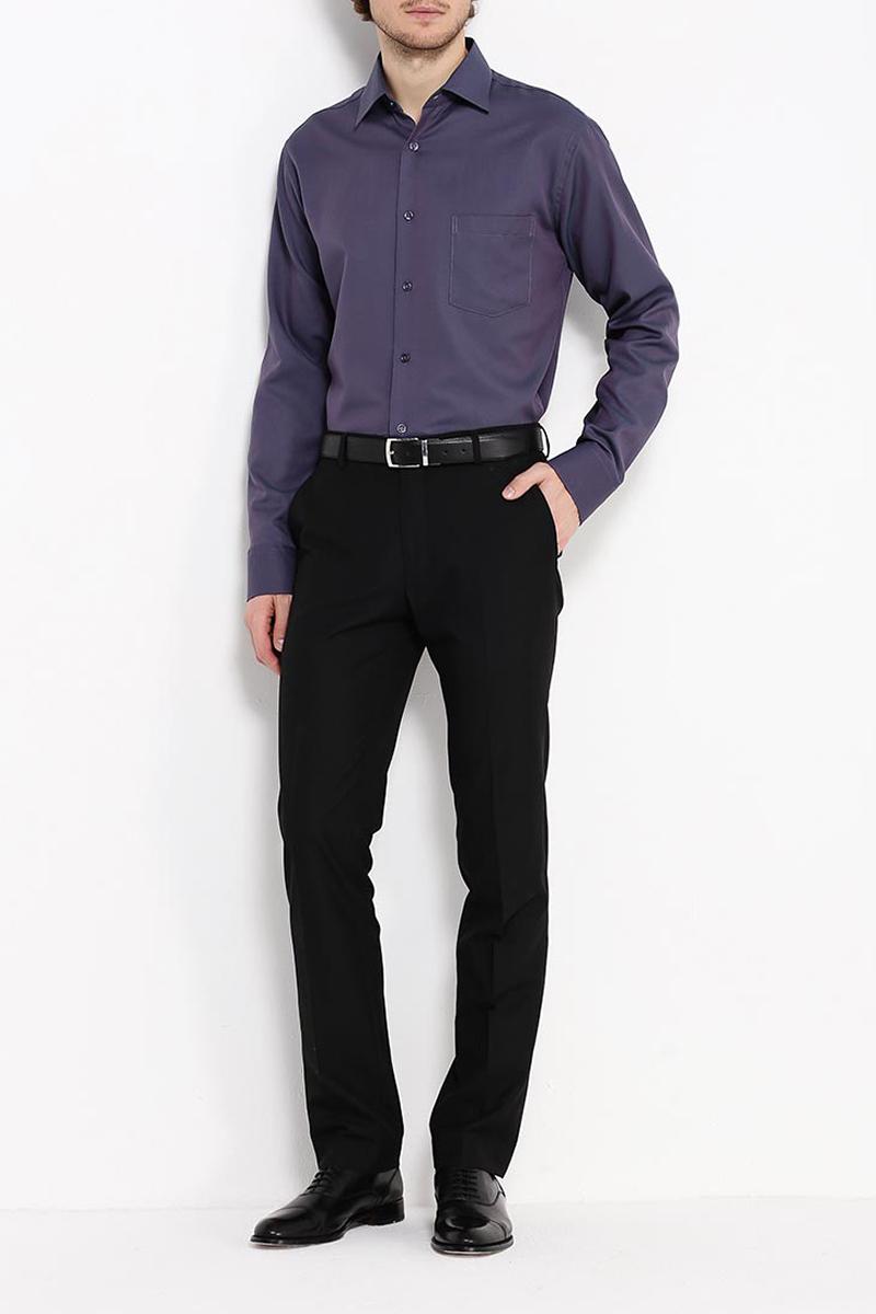 Рубашка мужская Greg, цвет: сиреневый. Gb773/319/633/Z. Размер 43 (54)