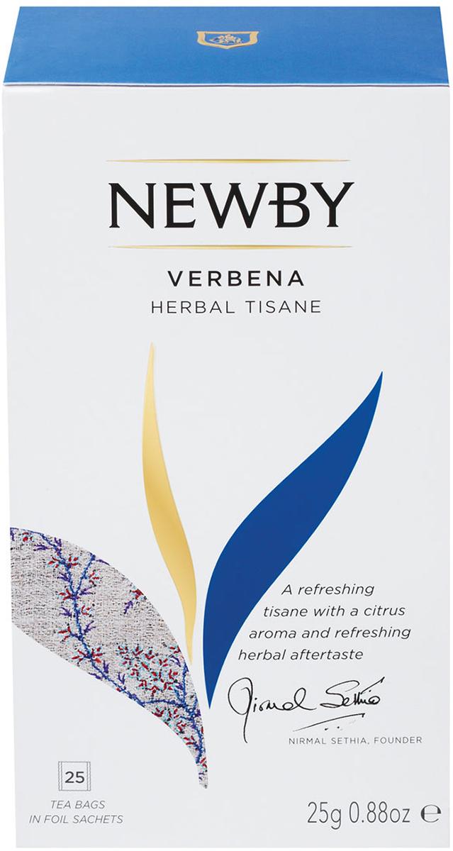 Newby Verbena травяной чай в пакетиках, 25 шт newby assam черный чай в пакетиках 25 шт