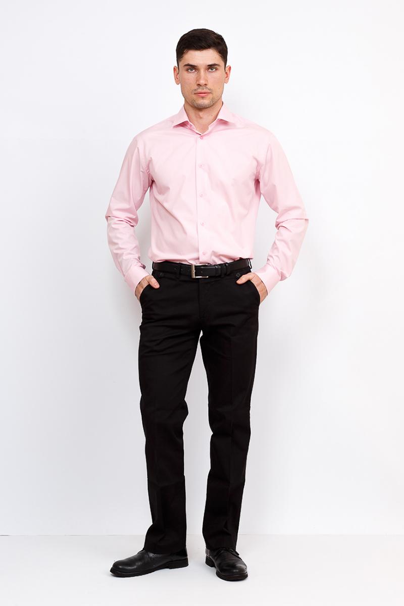 Рубашка мужская Greg, цвет: розовый. 620/139/LT ROSE/Z. Размер 43 (54)620/139/LT ROSE/ZРубашка Greg из однотонной хлопковой ткани. Рубашка мало мнется и отличается легкимуходом благодаря новейшим технологиям изготовления ткани. Долгий срок службы рубашки обеспечивают качественные дублирующие материалы воротника и манжет. Элегантная сорочка с французским маленьким воротником прекрасно смотрится с широкими галстуками и стильными бабочками. Обеспечивает хорошую посадку модным приталенным костюмам. Сорочки Greg – эффектная база для создания образа в классическом и casual стилях.