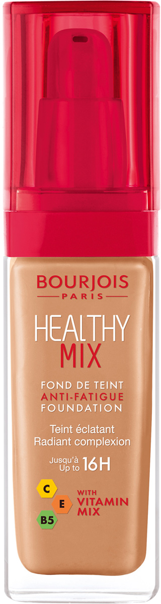 Bourjois Тональный Крем Healthy Mix Relaunch Тон 56 тональный крем bourjois healthy mix relaunch anti fatigue 56