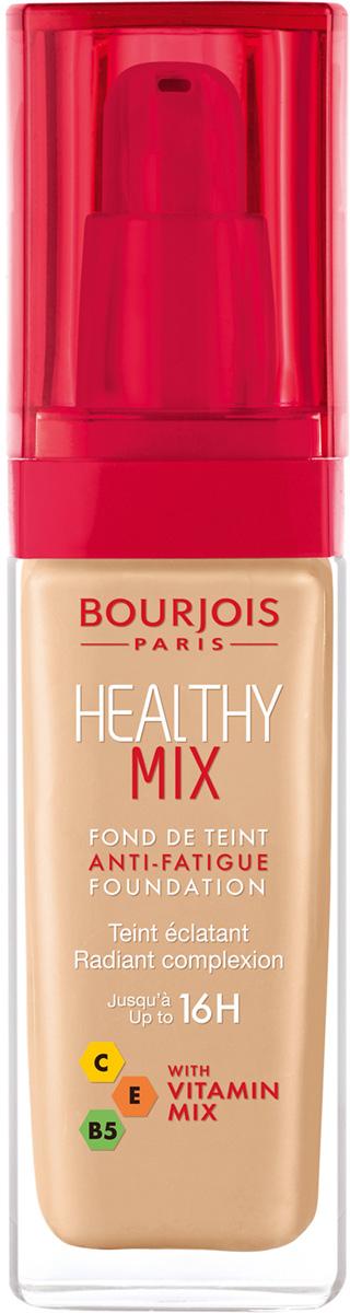 Bourjois Тональный Крем Healthy Mix Relaunch Тон 5329199601053Тональный крем Healthy Mix, обогащенный витаминами, скрывает следы усталости и несовершенства тона, усиливая естественное сияние.