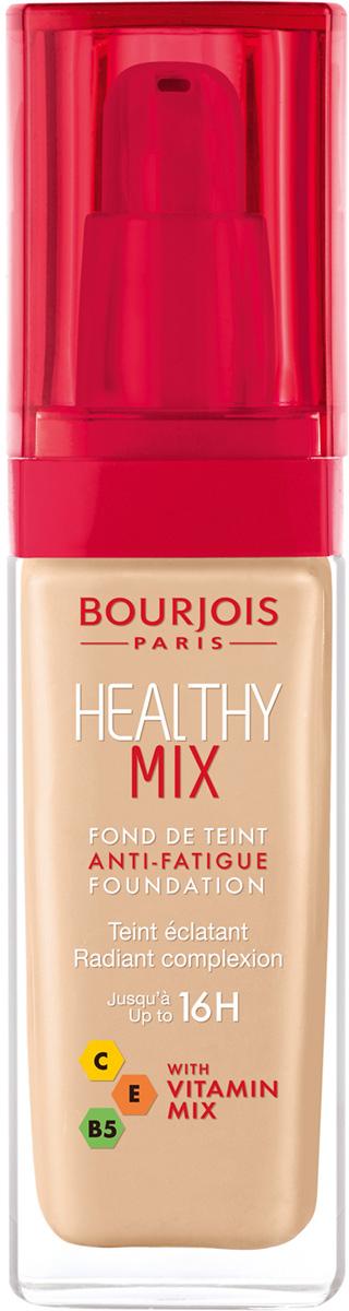 Bourjois Тональный Крем Healthy Mix Relaunch Тон 5229199601052Тональный крем Healthy Mix, обогащенный витаминами, скрывает следы усталости и несовершенства тона, усиливая естественное сияние.
