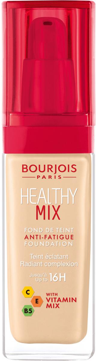 Bourjois Тональный Крем Healthy Mix Relaunch Тон 5129199601051Тональный крем Healthy Mix, обогащенный витаминами, скрывает следы усталости и несовершенства тона, усиливая естественное сияние.