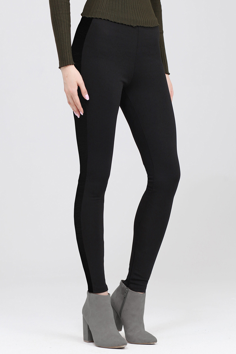 Брюки женские Tom Farr, цвет: черный. TW4563.58809-1-coll. Размер L (48)TW4563.58809-1-collЖенские брюки-скинни от Tom Farr выполнены из эластичного вискозного нейлона. Модель супероблегающего кроя со средней посадкой.