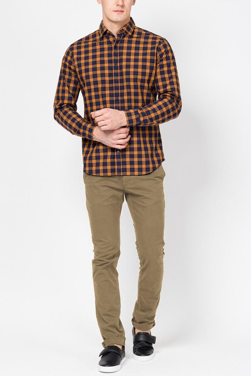 Брюки мужские Tom Farr, цвет: бежевый. TM7036.14703-1-coll. Размер L (50) брюки мужские tom tailor цвет зеленый 6855008 00 12 7807 размер l 50
