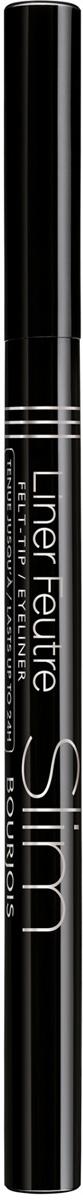 Bourjois Подводка жидкая для глаз Liner Feutre, Тон №16, 1 мл29102429016Благодаря фломастеру-подводке с тонким стержнем Liner Feutre Slim придать выразительность взгляду стало еще проще. Тонкий лайнер позволяет нанести линию уверенными и четкими движениями, а высокопигментированная формула в составе гарантирует непревзойденную интенсивность черного цвета. Выразительные стрелки легким движением руки – теперь реальность! Осталось только выбрать, какого эффекта вы хотите достичь: тонкие и элегантные или выразительные и насыщенные стрелки. Стойкость, которой можно позавидовать – ваши графичные стрелки будут выразительными и привлекательными на протяжении 24 часов!