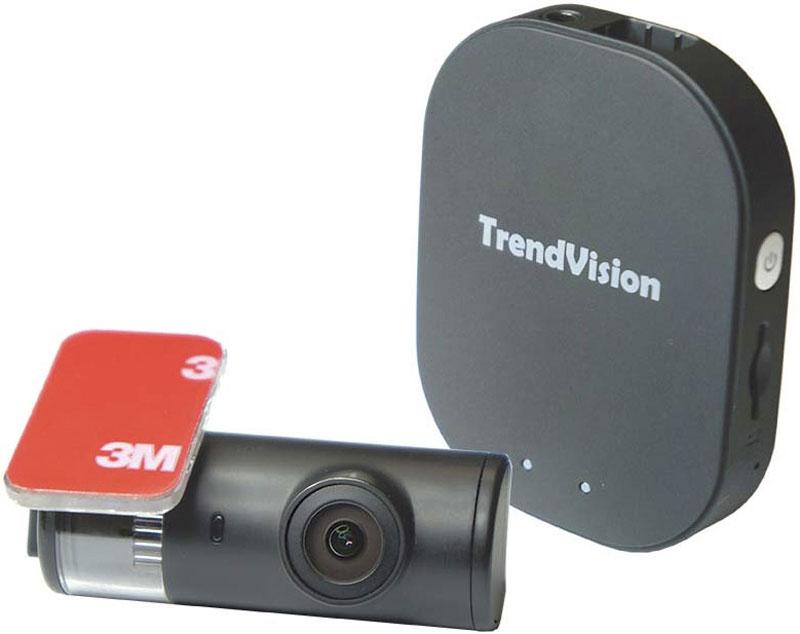 TrendVision Split, Black видеорегистратор6293235863TrendVision Split - скрытый автомобильный видеорегистратор с выносной камерой с CMOS сенсором Sony Exmor и Wi-Fi.Миниатюрная камера устанавливается на лобовом стекле автомобиля и практически незаметна. Блок записи скрытно устанавливается в любом месте в салоне автомобиля. Напряжение питания 8-24 В позволяет подключить устройство напрямую к бортовой сети минуя адаптер прикуривателя.Регистратор имеет камеру на матрице (CMOS-сенсор) Sony Exmor IMX323. Эта матрица обладает большим размером пикселя (активный элемент, преобразующий свет в электрический сигнал), высокой чувствительностью и широким динамическим диапазоном. Качественный светосильный стеклянный объектив с апертурой F/2.0 пропускает больше света, чем обычные объективы. Чувствительный CMOS-сенсор, качественный объектив и мощный процессор обеспечивают высокое качество записи даже в темное время суток.После установки автомобильного регистратора TrendVision Split, подключения питания он сразу готов к работе. При подаче питания устройство автоматически включается и начинает записывать видеоизображение. При отключении питания, устройство отключается.Встроенный датчик удара (G-сенсор) защитит файл от перезаписи при сильном ударе. Индикаторы информируют о режиме работы. Возможность использования карт объемом до 256 ГБ позволяет иметь большой архив записи.Схемотехника и специальные электронные компоненты позволяют выдерживать широкий диапазон температур. Li-Io аккумуляторы, применяемые в обычных видеорегистраторах, могут выйти из строя при сильном нагреве или охлаждении и имеют ограниченный срок службы.Автомобильный видеорегистратор TrendVision Split имеет встроенный Wi-Fi передатчик для соединения со смартфоном. Приложение TrendVision Split необходимо скачать с AppStore (Apple) или c PlayMarket (Android) и установить на смартфон. С помощью этого приложения возможно смотреть изображение от камеры на экране вашего смартфона, копировать ролики, настраивать регистратор. Д