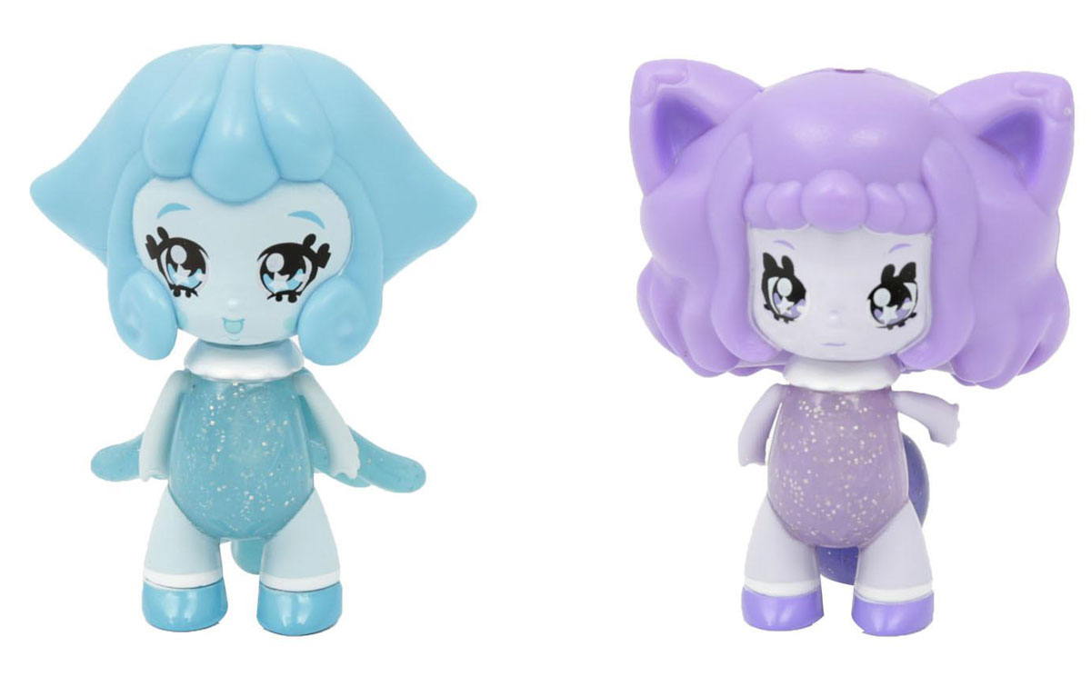 Glimmies Набор мини-кукол Celeste & Foxanne