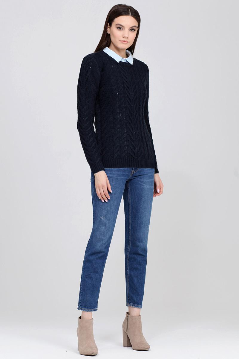 Джемпер женский Tom Farr, цвет: темно-синий. TW4597.67809-2-coll. Размер XXL (52)