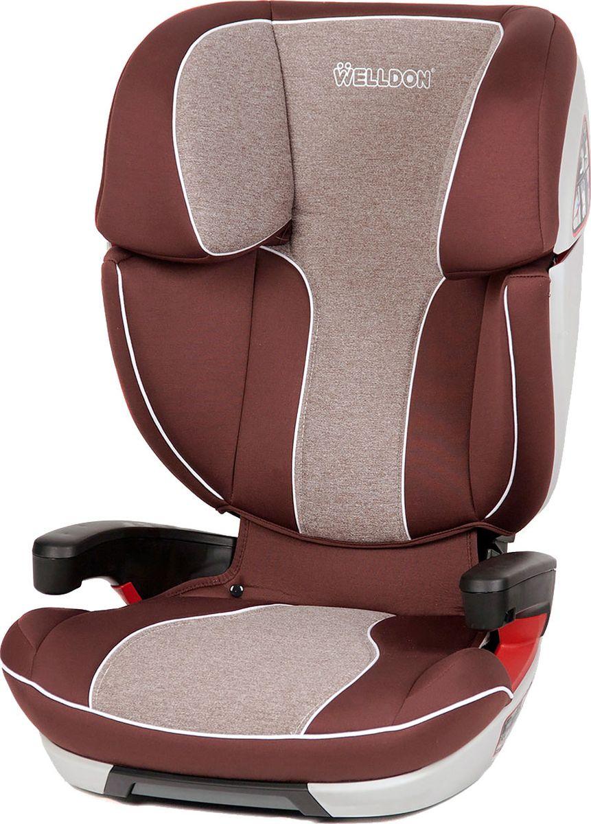 Welldon Автокресло Cocoon Travel цвет коричневый от 15 до 36 кг - Автокресла и аксессуары