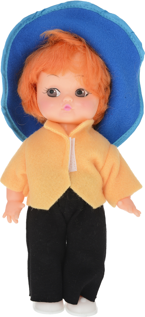 Sima-land Кукла Незнайка цвет одежды синий желтый белые женские ботиночки