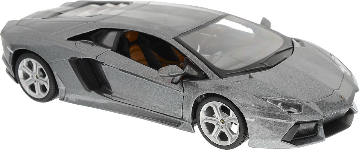 Maisto Модель автомобиля Lamborghini Aventador LP 700-4 цвет серый машинки pit stop машинка lamborghini lp 700 красная 1 43 ps 0616410 r