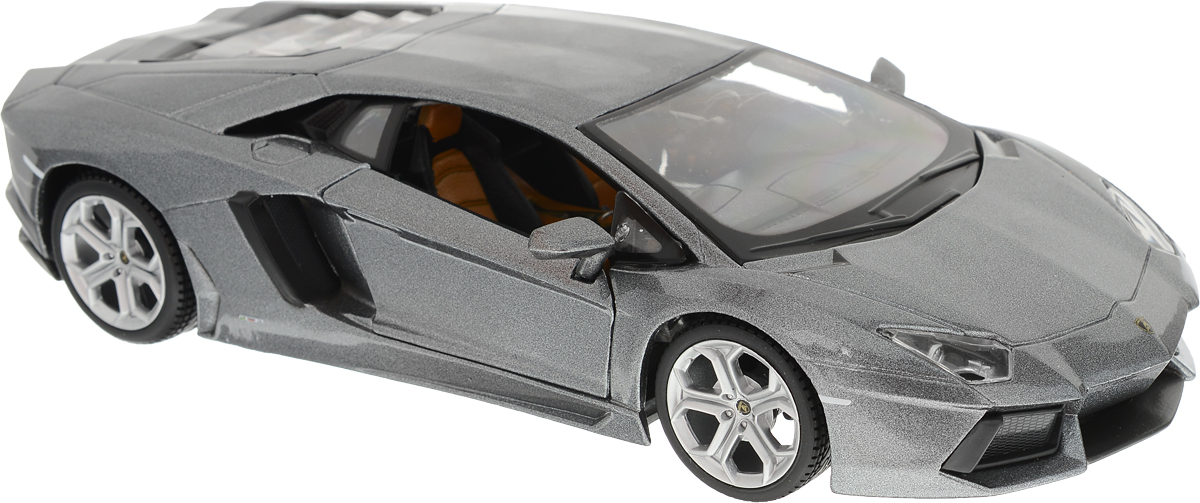Maisto Модель автомобиля Lamborghini Aventador LP 700-4 цвет серый пазл 73 5 x 48 8 1000 элементов printio lamborghini aventador