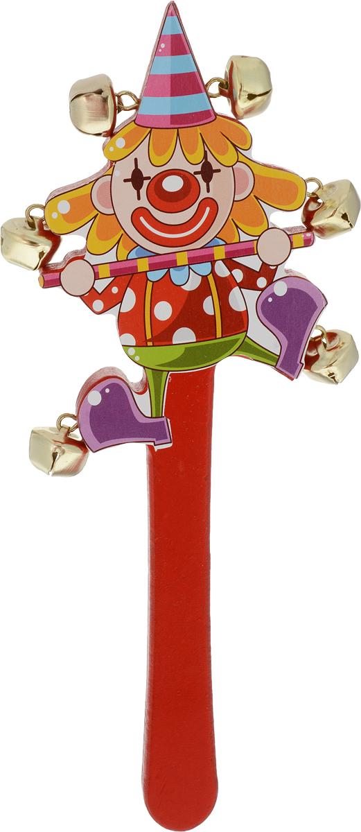 Лесная мастерская Погремушка Цирк цвет красный игрушка лесная мастерская военный автомат 255779