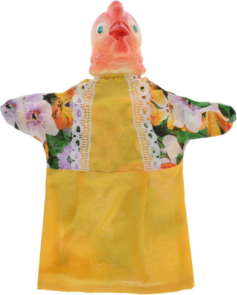 Sima-land Мягкая игрушка на руку Курица цвет желтый 722654 sima land мягкая игрушка на руку заяц 506986