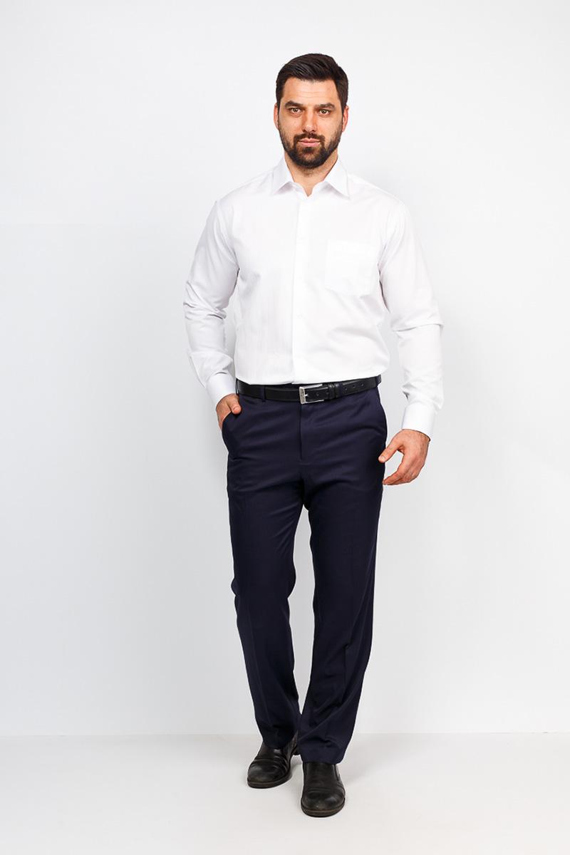 Рубашка мужская Casino, цвет: белый. c113/1/9156. Размер 46 (60-174/184) ночные сорочки и рубашки
