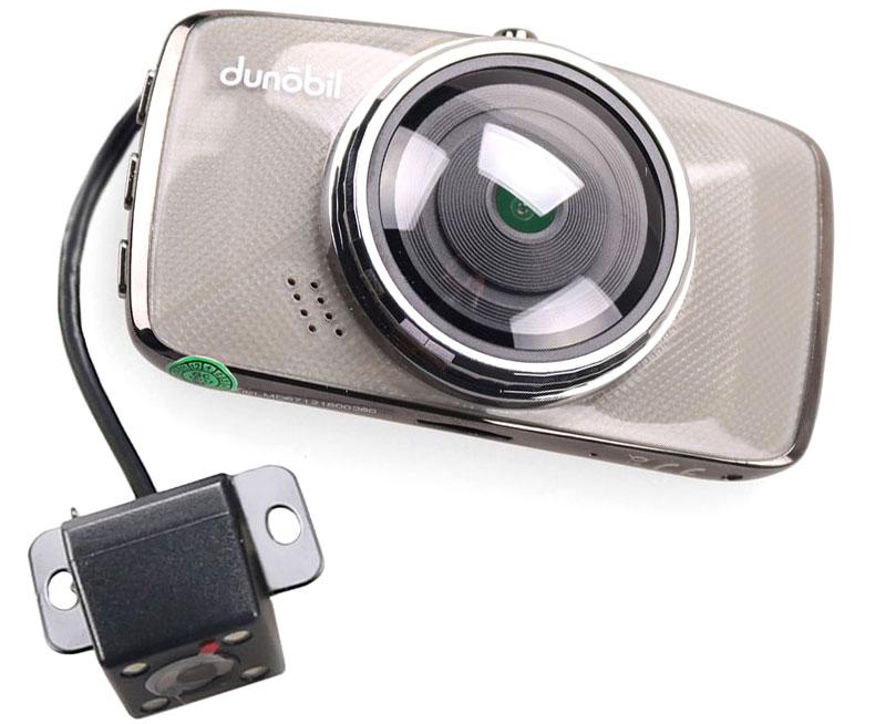 Dunobil Chrom Duo, Silver видеорегистраторJELMD67Dunobil Chrom Duo довольно компактен для двухкамерного видеорегистратора.Модуль G-сенсора отвечает за автоматическое сохранение записи при сильной встряске автомобиля или резком торможении. Запись включается в тот же момент, как машина начинает движение.Оснащение второй камерой открывает новые возможности контроля. С помощью неё можно контролировать дорожную ситуации позади автомобиля или записывать происходящее в салоне. Вторая камера выполнена в виде выносного блока, который в зависимости от задачи можно зафиксировать на лобовое или заднее стекло. Обеспечивается угол обзора в 170 градусов по диагонали.Процессор Allwinner V3S с матрицей Omnivision OV2710 позволяют четко фиксировать номерные знаки на большом расстоянии. Отдельного внимания заслуживает четкость и контрастность. Разрешение съемки – Full HD со скоростью 30 кадров в секунду. Запись проводится в формате MOV. Запись двухканальная, одновременно с передней и задней камер.Сенсор: Omnivision OV2710Процессор: Allwinner V3SФормат видео: MOVРазрешение камеры заднего вида: 640x480