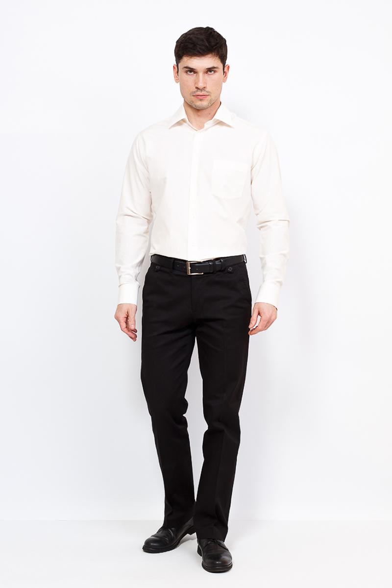 Рубашка мужская Casino, цвет: бежевый. c513/1/9251/Z. Размер 44 (56-174/184) сотовый телефон philips x818 xenium champagne