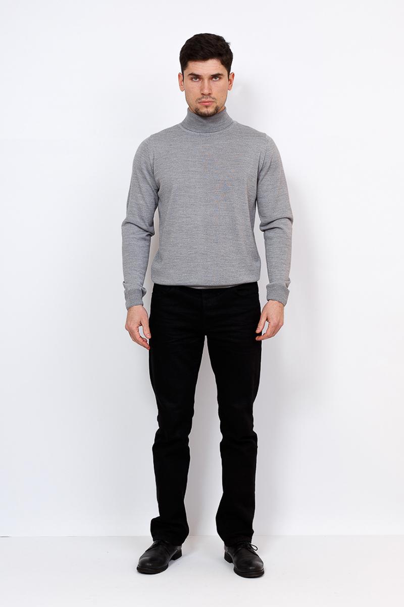 Джемпер мужской Greg, цвет: светло-серый. G123-2506. Размер 58 джемпер мужской шерсть