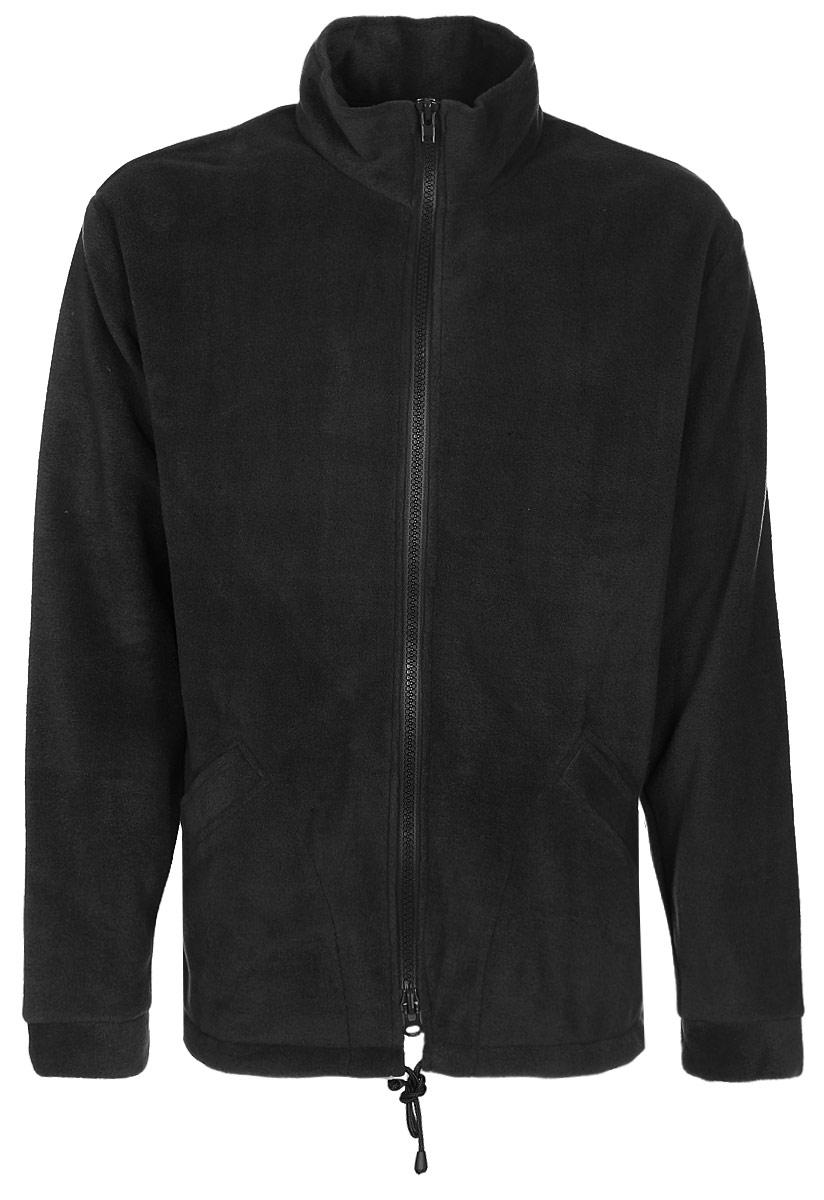 Куртка рыболовная мужская HUNTSMAN Байкал, цвет: черный. bl_200_k-901. Размер 60/62, рост 188