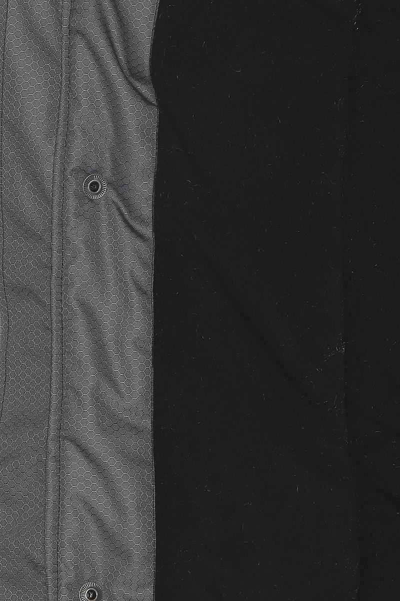 Костюм рыболовный мужской HUNTSMAN Полюс V:  куртка, полукомбинезон, цвет:  серый, черный.  ps_100_v-976.  Размер 48/50, рост 176