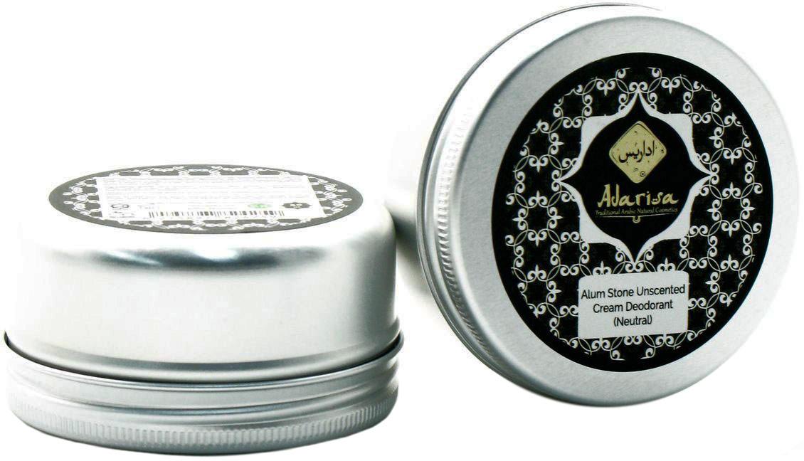 Adarisa Алунитовый крем-дезодорант (нейтральный), без запаха, 50 грADAR0137Натуральный алунитовый дезодорант имеет нежную кремовую консистенцию, благодаря которой он обеспечивает самый мягкий уход за чувствительной кожей, в том числе, у подростков. Он абсолютно гипоаллергенен, а его природный состав исключает использование каких-либо отдушек и химических составляющих, поэтому его могут использовать даже беременные и кормящие женщины.Дезодорант имеет 100% натуральную основу – солевой минерал горно-вулканического происхождения, богатый алюмокалиевыми квасцами. Именно его уникальными свойствами обусловлено действие дезодоранта. Алунит не просто защищает от повышенного потоотделения, но и ведет эффективную борьбу с самой причиной образования неприятного запаха, уничтожая вредоносные бактерии. Он нормализует микрофлору кожи подмышечных впадин, и она остается чистой и свежей в течение более продолжительного времени.Антибактериальные, дезинфицирующие и заживляющие свойства алунита позволяют натуральному дезодоранту одновременно обеспечивать надежную защиту от запаха пота и максимальную заботу о коже. Его очевидное преимущество перед промышленными антиперспирантами – полная безопасность для кожи: алунитовый крем-дезодорант не содержит тальк и спирт, не сушит кожу и не нарушает естественное дыхание ее клеток. Кроме того, он снимает раздражения и заживляет микроранки и порезы после бритья.Простой и удобный в применении, алунитовый крем-дезодорант легко наносится, не оставляет разводов и полос на одежде и помогает чувствовать себя уверенно 24 часа в сутки.