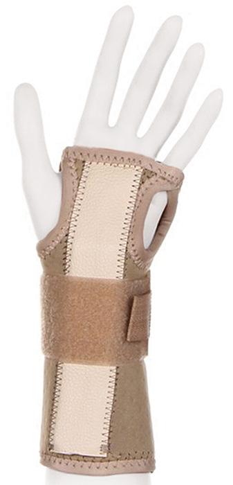 Ttoman Бандаж на лучезапястный сустав без фиксации большого пальца WS-LT. Размер 1/SWS - LT (S)Особенности:воздухо- и влагопроницаемый материал моделируемая металлическая вставка подходит для правой и левой руки цвет: бежевый Показания к применению:растяжения связок лучезапястного суставаконтрактуры лучезапястного суставаревматоидный артриттуннельный синдромСостав:аэропрен - 48%хлопок - 15%эластан - 21%нейлон - 8%лайкра - 8%XS(детский) окружность лучезапястного сустава 10-14смS окружность лучезапястного сустава 14-15смM окружность лучезапястного сустава 15-16смL окружность лучезапястного сустава 16-17смXL окружность лучезапястного сустава 17-19смXXL окружность лучезапястного сустава 20-22см3XL окружность лучезапястного сустава 22-24см