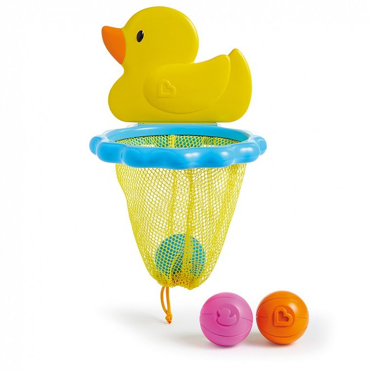 Munchkin Игрушка для ванны Баскетбол Утка munchkin органайзер для игрушек в ванной цвет голубой