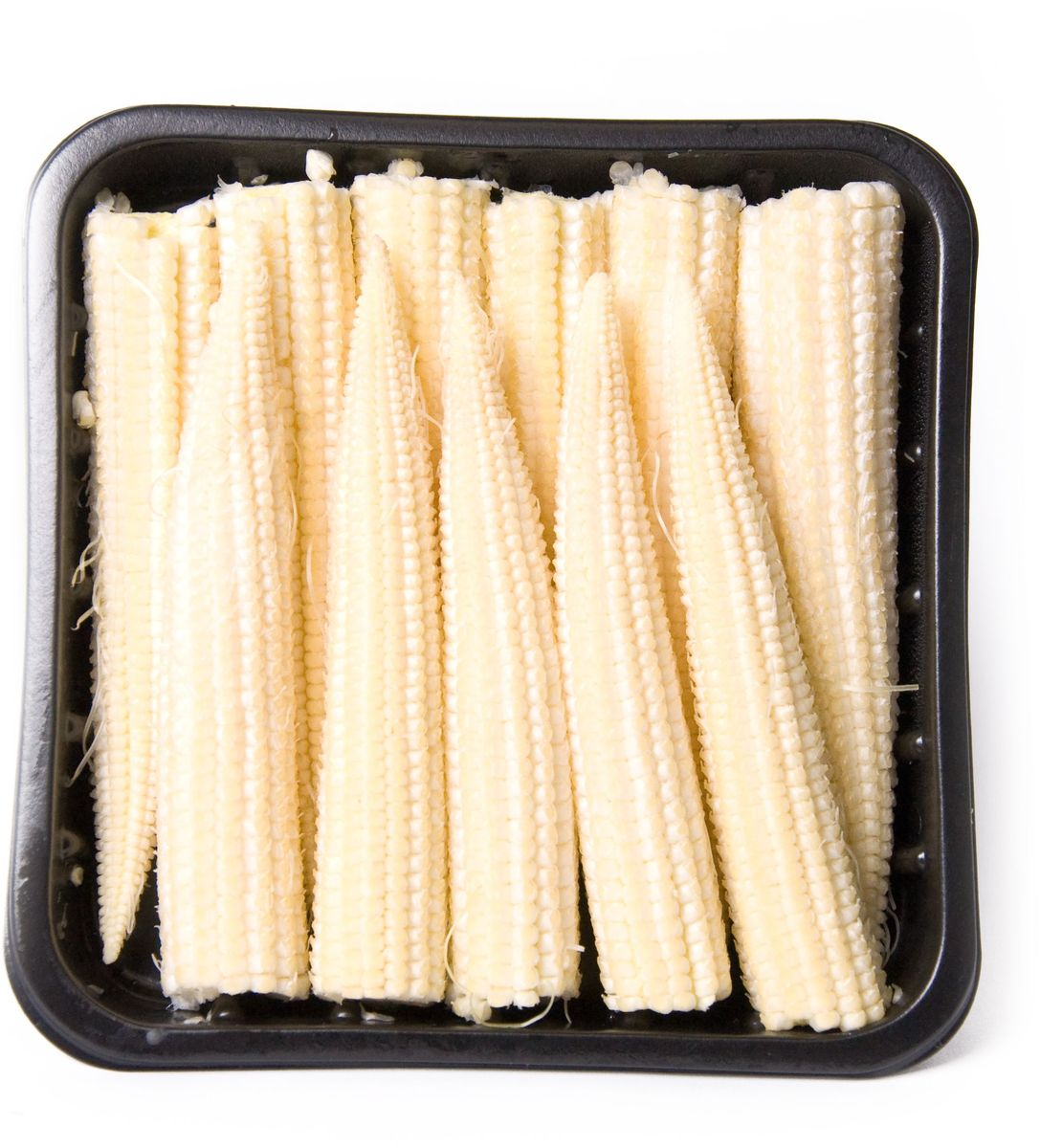 Мини Кукуруза, 125 г138000000Кукуруза мини - карликовый сорт кукурузы около 10 см в длину. Обладает нежным сладковатым вкусом. Содержит важные витамины, микро- и макроэлементы. Початок мягкий, поэтому его употребляет целиком. В сыром виде такую кукурузу добавляют в свежие салаты, часто она используется для приготовления блюд азиатской и китайской кухни. Не требует длительной тепловой обработки. Очень красиво и ярко мини-кукуруза смотрится в овощных рагу.