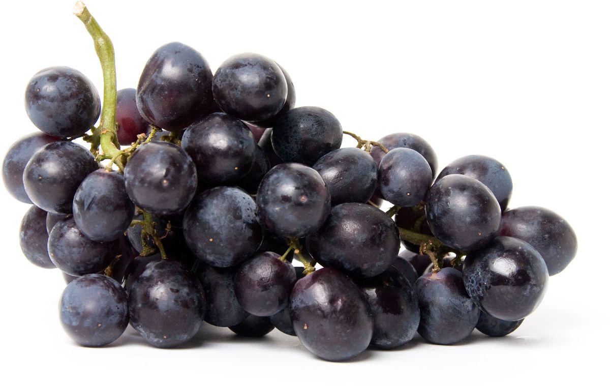 Виноград черный, 500 г виноград белый без косточек 500 г
