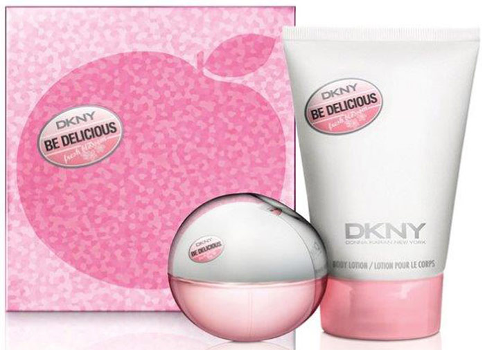 DKNY Подарочный набор Fresh blossom: парфюмерная вода, 30 мл, лосьон для тела, 100 мл бренд dkny википедия