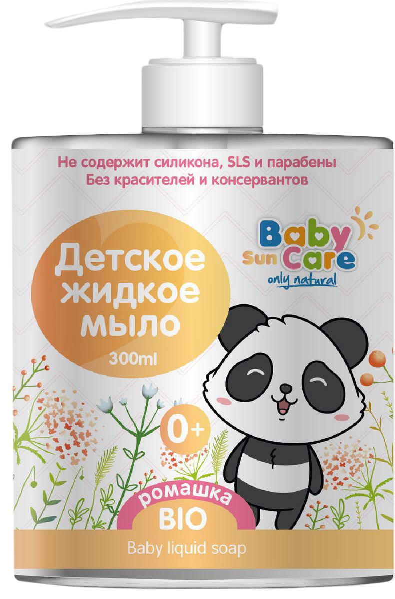 Baby Sun Care Жидкое мыло детское с ромашкой 300 мл аксессуар baby care набор светоотражающих накладок для коляски 2шт white
