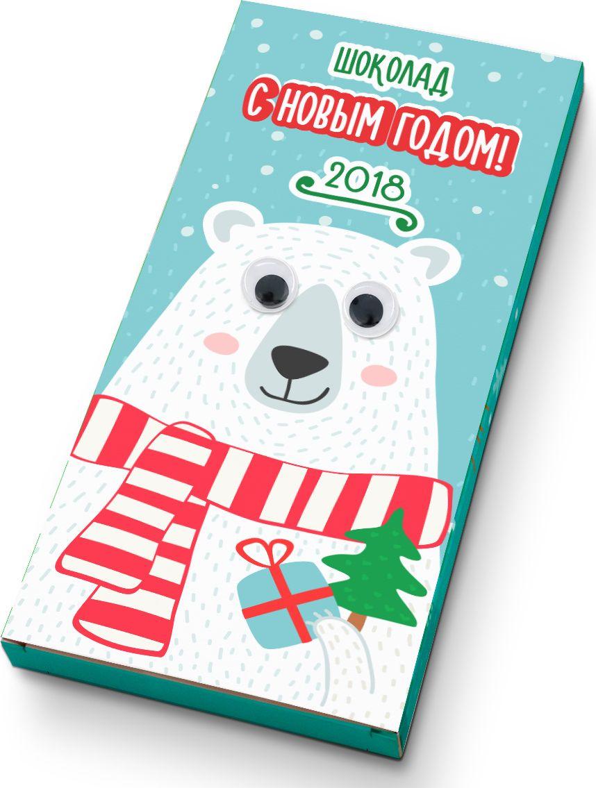 Shokobox Медведь с глазами шоколадная плитка, 100 гФР-00001858Встречайте - смешная плитка с глазами, которая обязательно вызовет море положительных эмоций у получателя подарка!Уникальный дизайн и забавный персонаж делает эту шоколадку яркой и запоминающейся!Особенно с мишкой.