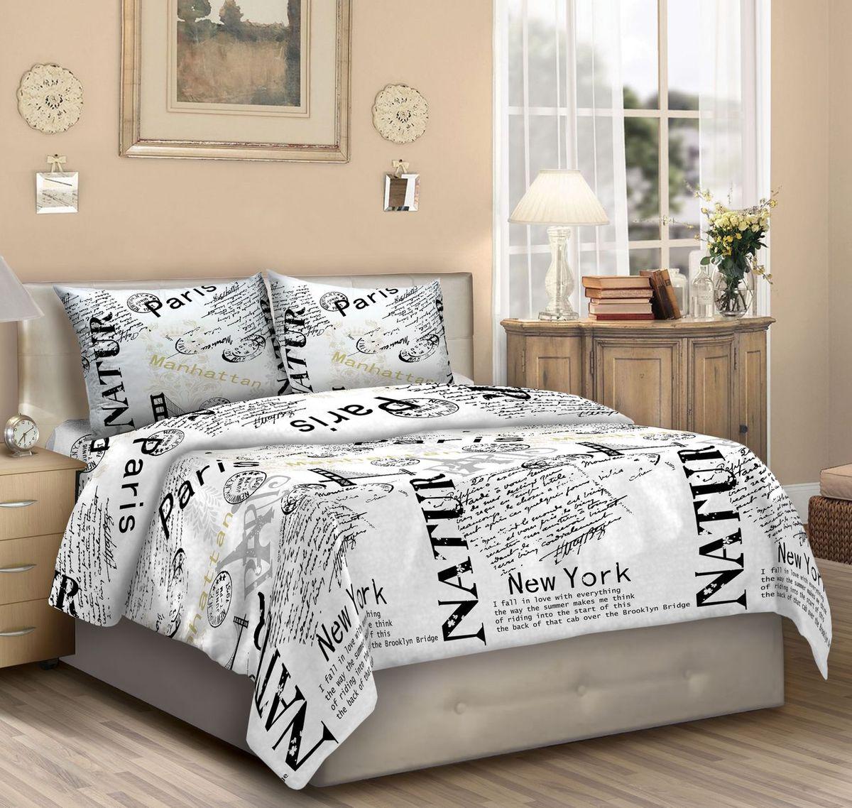 Комплект белья Seta Federico. Urbis, 2-спальный, наволочки 50х70015735268Бязевое белье выдерживает бесконечное число стирок, к тому же стоит сравнительно недорого. Лучшее соотношение цены, качества ткани и современных дизайнов.