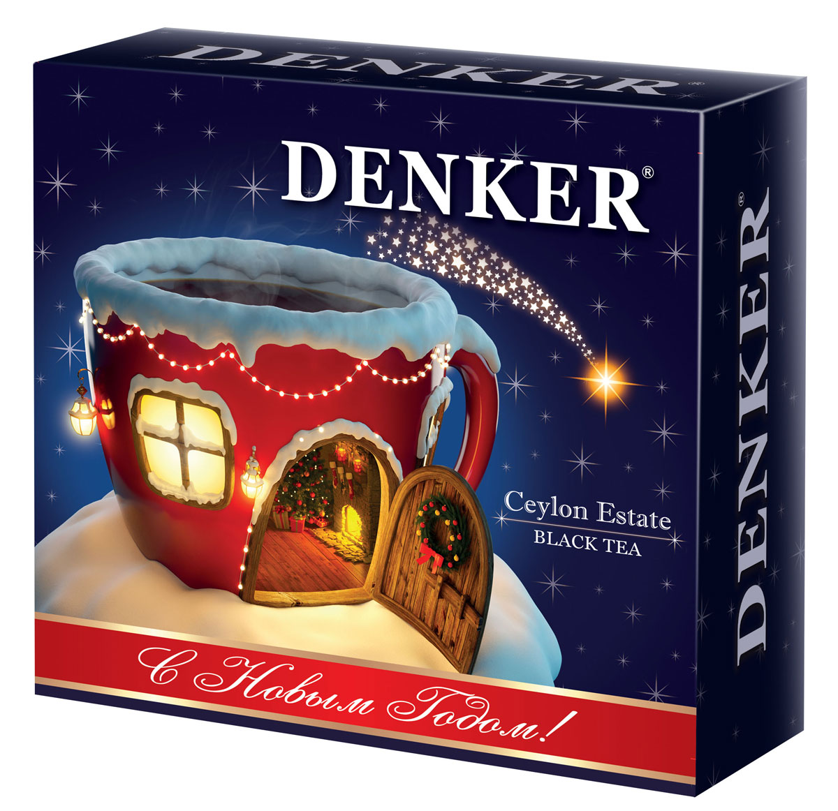 Denker Ceylon Estate Новый Год чай черный цейлонский мелкий, 200 г corporate real estate management in tanzania