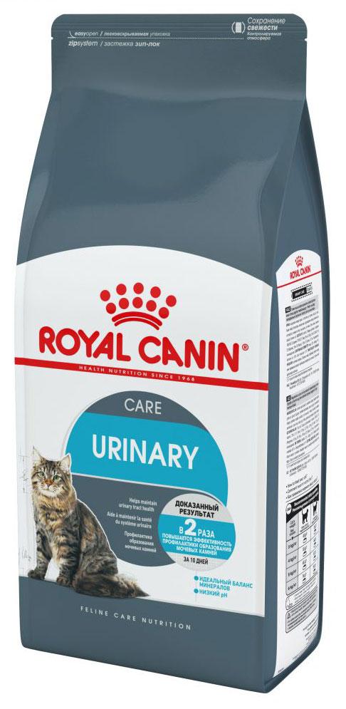 Корм сухой Royal Canin Urinary Care, для взрослых кошек, 400 г корм сухой royal canin mini light weight care для взрослых собак склонных к ожирению 2 кг