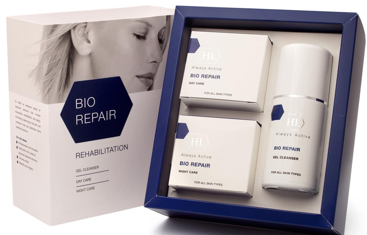 Holy Land Набор для восстановления поврежденной кожи Bio Repair Kit, 3 препарата