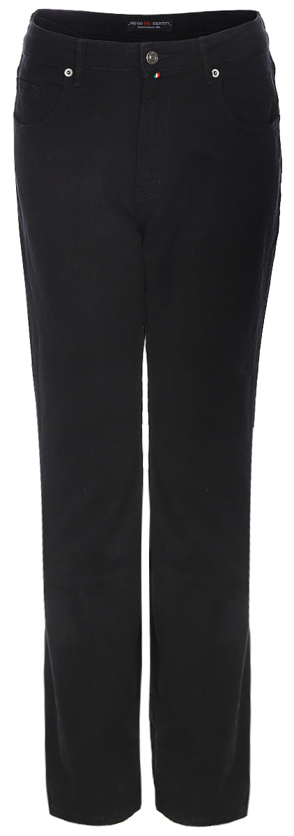 Джинсы женские F5, цвет: черный. 175108_w.garment. Размер 38-34 (54/56-34)175108_w.garmentСтильные женские джинсы F5 выполнены из хлопка с добавлением эластана. Джинсы застегиваются на металлическую пуговицу в поясе и ширинку на застежке-молнии, имеются шлевки для ремня. Изделие дополнено спереди двумя втачными карманами и одним маленьким накладным кармашком, а сзади - двумя накладными карманами. Оформлена модель прострочкой и сзади на поясе фирменной нашивкой.
