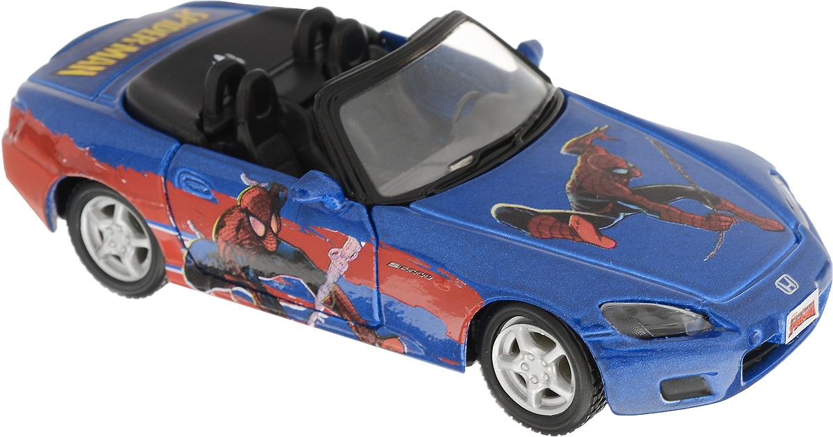 Maisto Машинка инерционная Honda S2000 цвет синий игрушка maisto трансформирующаяся машина menace hauler scout x3 81120