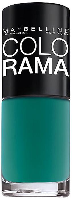 "Maybelline New York Лак для ногтей ""Colorama"", оттенок 217, Летняя зелень, 7 мл"