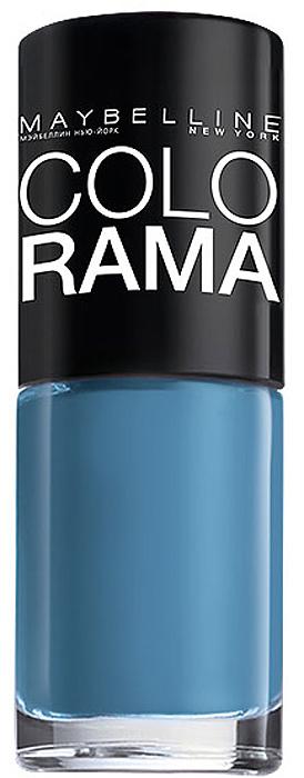 Maybelline New York Лак для ногтей Colorama, оттенок 285, Голубая сталь, 7 млB2339302Самая широкая палитра оттенков новых лаков Колорама. Яркие модные цвета с подиума.Новая формула лака Колорама обеспечивает стойкое покрытие и создает еще более дерзкий, насыщенный цвет, который не тускнеет.Усовершенствованная кисточка для более удобного и ровного нанесения, современная упаковка.Лак для ногтей Колорама не содержит формальдегида, дибутилфталата и толуола.Как ухаживать за ногтями: советы эксперта. Статья OZON Гид