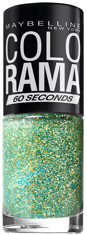 Maybelline New York Лак для ногтей Colorama, оттенок 334, Мятное Мерцание, 7 мл maybelline new york лак для ногтей colorama оттенок 440 вуаль 7 мл
