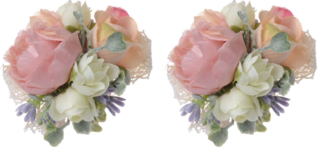 Резинка для волос Malina By Андерсен Шампань, цвет: розовый, 2 шт. 11701рм0211701рм02