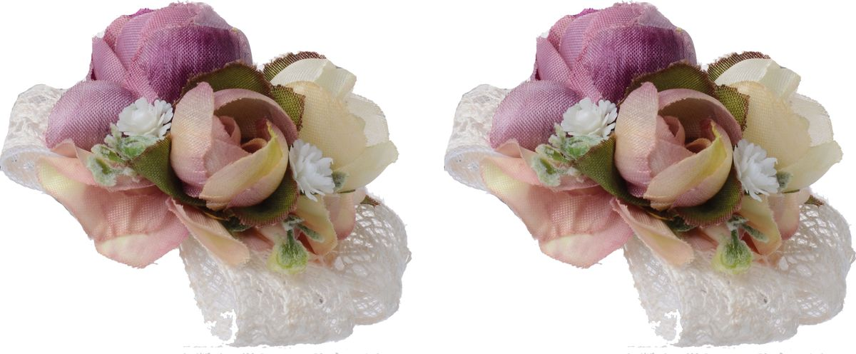 Резинка для волос Malina By Андерсен Розовый кедр, цвет: фиолетовый, 2 шт. 11702рм2211702рм22