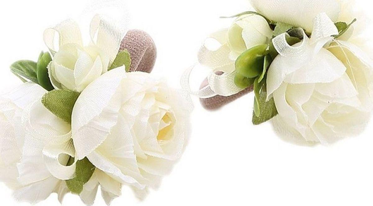 Резинка для волос Malina By Андерсен Бланж, цвет: белый, 2 шт. 11707рм0211707рм02Резинка для волос Malina By Андерсен Бланж поможет подчеркнуть вашу индивидуальность и стиль. С помощью резинки вы сможете уложить волосы в элегантную прическу.