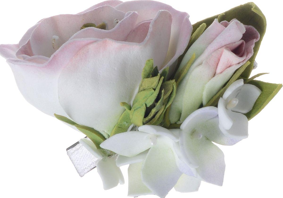 Заколка для волос Malina By Андерсен Гренни, цвет: розовый11712тб10Заколка для волос поможет подчеркнуть вашу индивидуальность и стиль. С помощью заколки вы сможете уложить волосы в элегантную прическу.