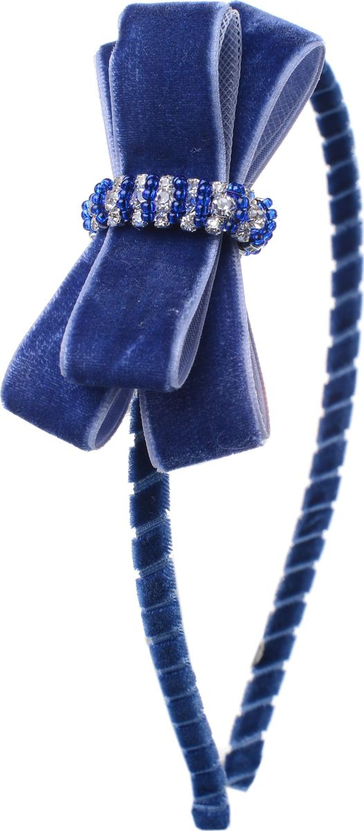 Ободок для волос Malina By Андерсен Бристоль, цвет: синий. 21707об4221707об42