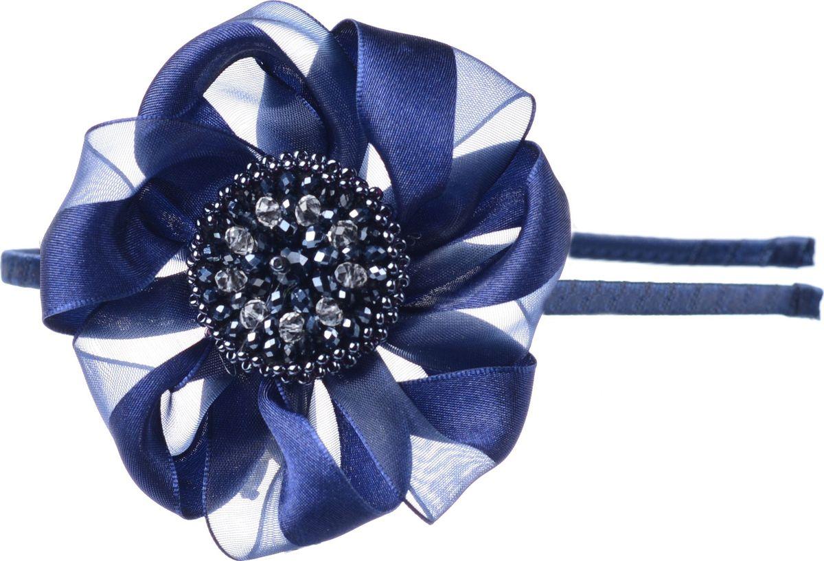 Ободок для волос Malina By Андерсен Авенир, цвет: синий. 21712ом4221712ом42Ободок для волос поможет подчеркнуть вашу индивидуальность и стиль. С помощью ободка вы сможете уложить волосы в элегантную прическу.