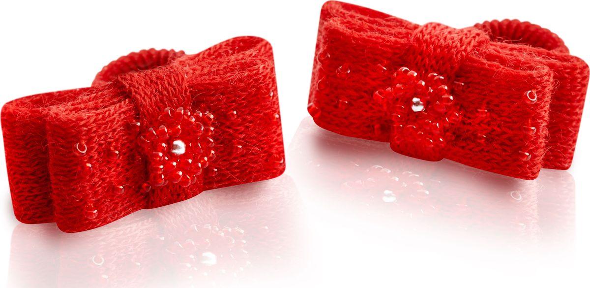 Резинка для волос Malina By Андерсен Барбарис, цвет: красный, 2 шт. 31606рм0131606рм01
